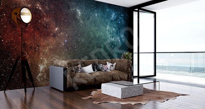 Fototapeta galaktyka i gwiazdy