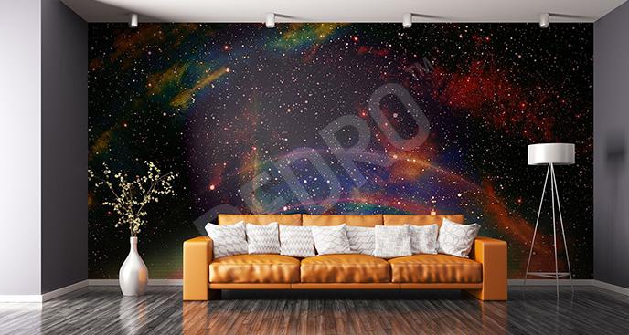 Fototapeta galaktyka i kolory