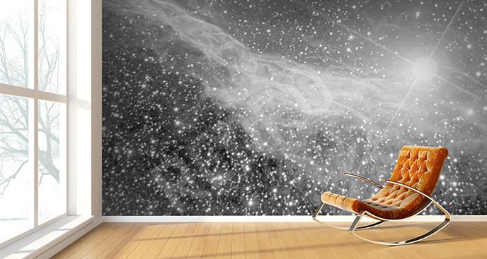 Fototapeta galaktyka w szarości