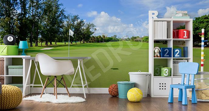 Fototapeta golf dla nastolatka