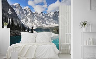 Fototapeta górski krajobraz do sypialni