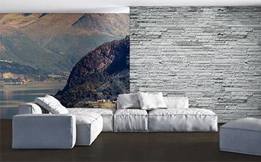 Fototapeta góry w Norwegii