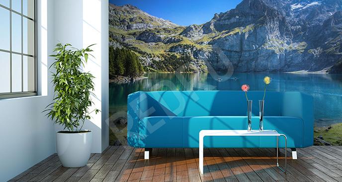 Fototapeta góry w Szwajcarii