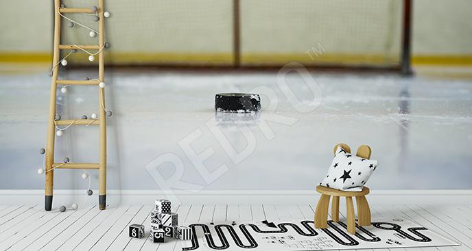 Fototapeta hokej vintage