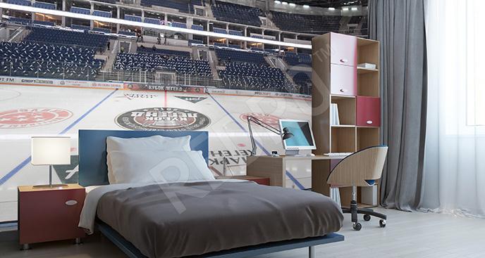 Fototapeta hokej w Rosji