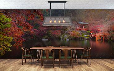 Fototapeta japoński ogród