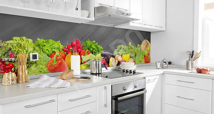 Fototapeta jarzyny do kuchni