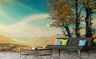 Fototapeta jesienna panorama