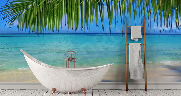 Fototapeta Karaiby w łazience