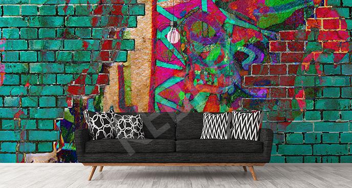 Fototapeta kolaż graffiti