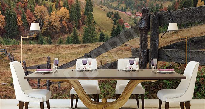 Fototapeta kolorowa jesień