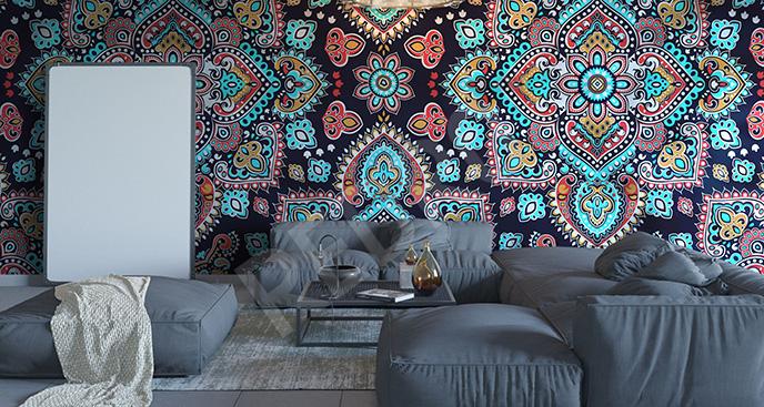 Fototapeta kolorowa mandala