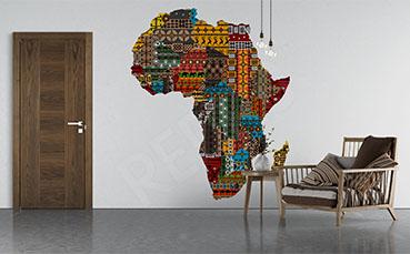 Fototapeta kontynent Afryka