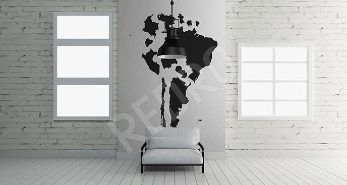 Fototapeta kontynent Ameryka Południowa