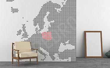 Fototapeta kontynent Europa