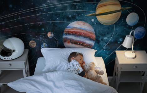Fototapeta kosmos dla dziecka