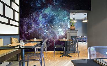 Fototapeta kosmos do restauracji