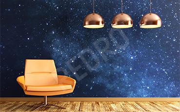 Fototapeta kosmos do salonu