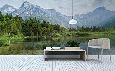 Fototapeta krajobraz do sypialni