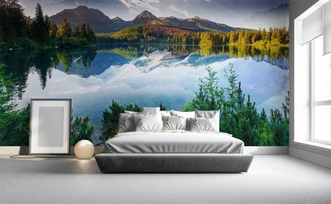 Fototapeta krajobraz górski do sypialni