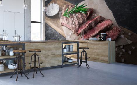 Fototapeta kuchenna grillowany stek