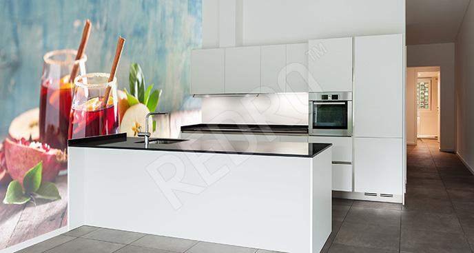 Fototapeta kuchenna z napojami