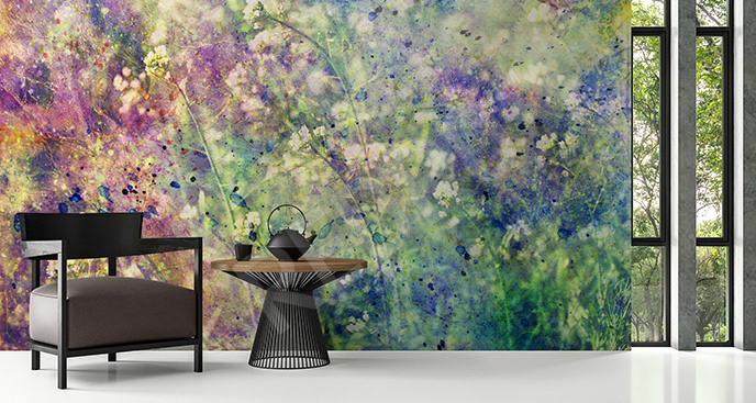 Fototapeta łąka kwiatów