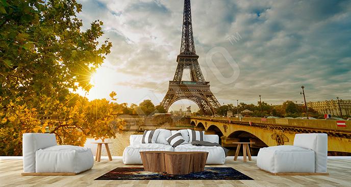Fototapeta lato w Paryżu