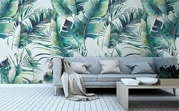Fototapeta liście palmy do sypialni