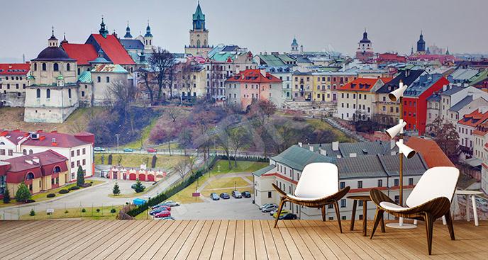 Fototapeta Lublin panorama