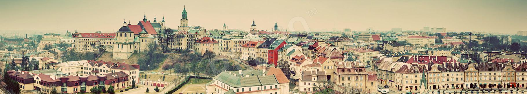 Fototapeta Lublin vintage