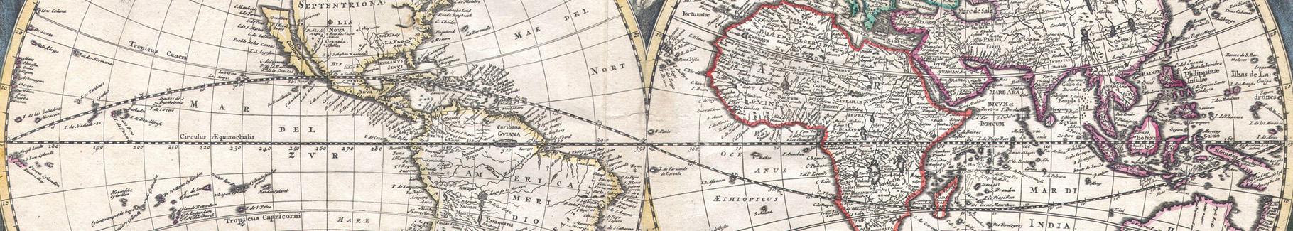 Fototapeta mapa retro: Starożytność