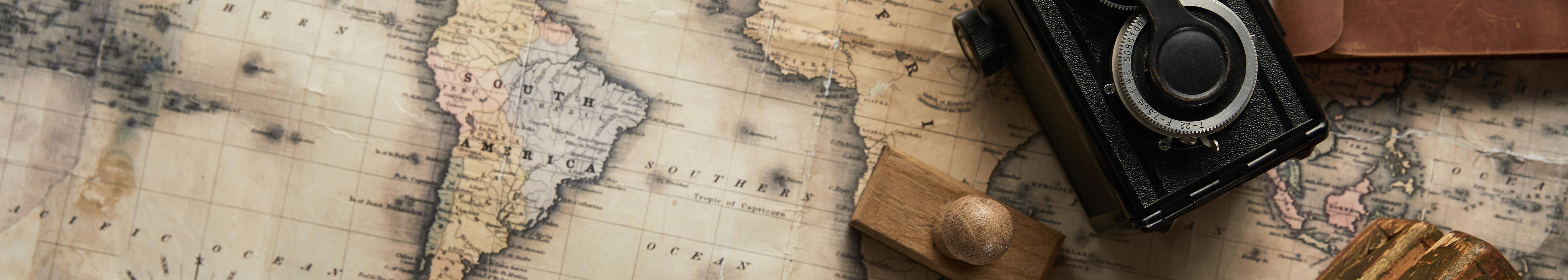 Fototapeta mapa świata do pokoju młodzieżowego