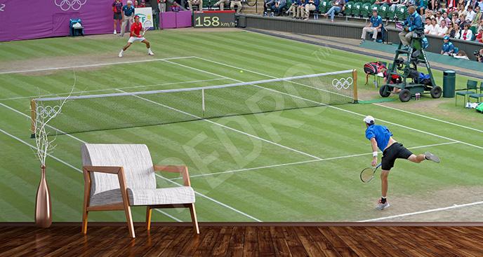 Fototapeta mecz tenisowy