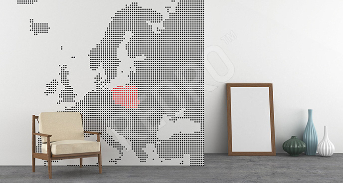 Fototapeta minimalistyczna Europa