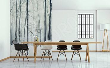Fototapeta minimalistyczna las