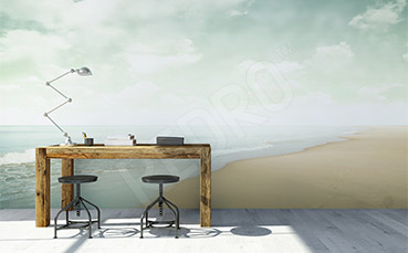 Fototapeta minimalistyczna plaża