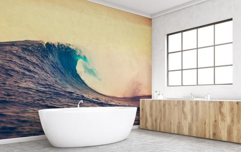 Fototapeta morze do łazienki