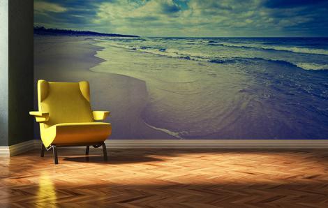 Fototapeta morze i plaża do salonu
