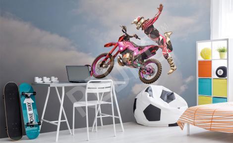 Fototapeta motocykl ścigacz