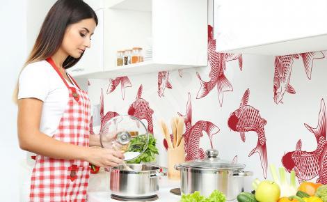 Fototapeta motyw orientalny do kuchni
