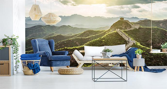 Fototapeta Mur Chiński krajobraz