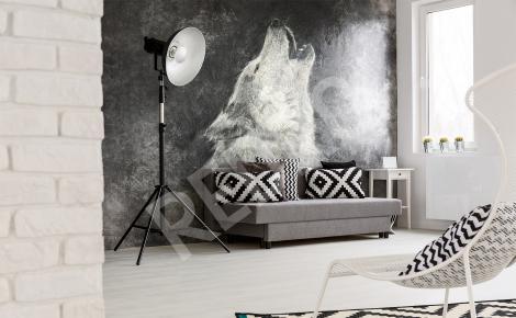 fototapeta na ścianę wilk