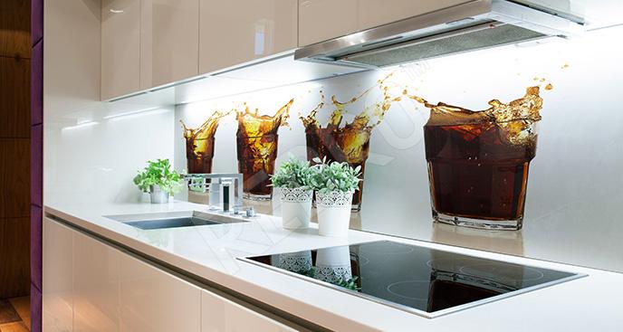 Fototapeta napoje do kuchni