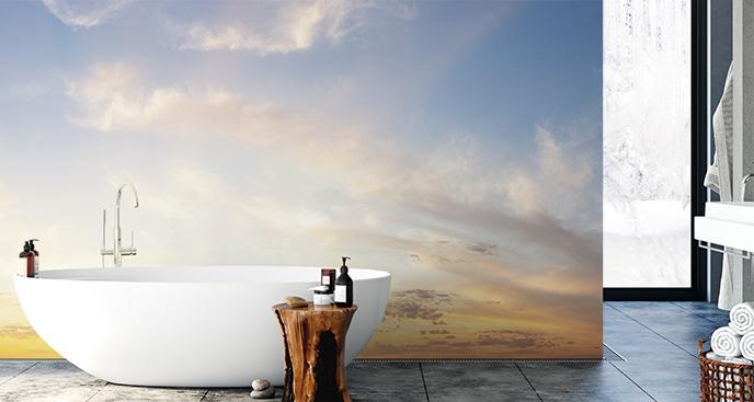 Fototapeta niebo do łazienki