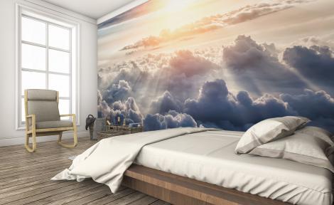 Fototapeta niebo do sypialni