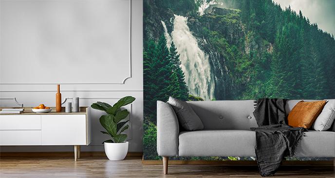 Fototapeta norweski wodospad