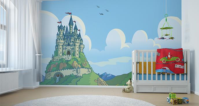 Fototapeta pałac księżniczki