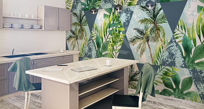 Fototapeta palmy do kuchni