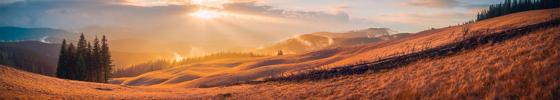 Fototapeta panorama gór